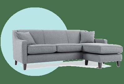 Большие диваны и комплексы мягкой мебели