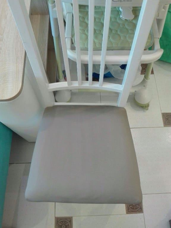 Чистка стульев с мягким сиденьем после