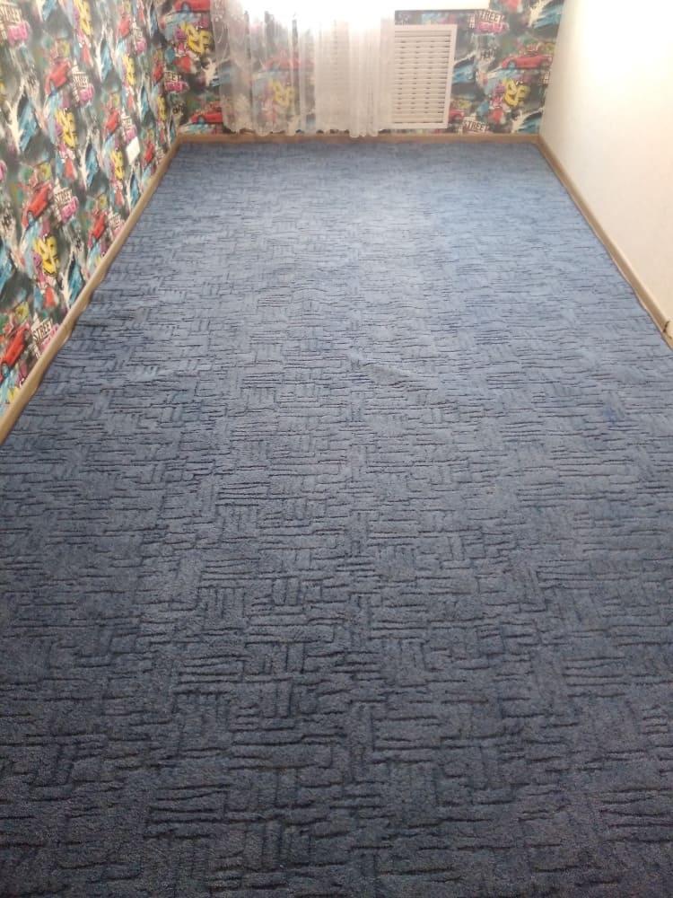 Чистка ковролина в детской комнате до